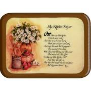 """Kitchen Prayer Plaque cm. 21x29- 8 1/2""""x 11 1/2"""""""