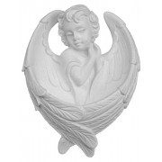 Guardian Angel Waterfont cm.11- 4 1/4""
