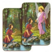 """St.Raphael 3D Bi-Dimensional Cards cm.5.5x8.2- 2 1/8""""x 3 1/4"""""""