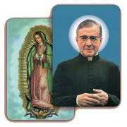"""Guadalupe/ San Escriva 3D Bi-Dimensional Cards cm.5.5x8.2- 2 1/8""""x 3 1/4"""""""