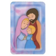 "Animated Holy Family Fridge Magnet cm.4x6 - 2 1/2""x 4 1/4"""