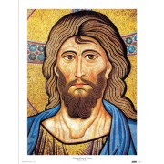 "Year of the Faith/ Pantocrator High Quality Print cm.30x40- 12""x16"""