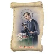 "St.Gerard Fridge Magnet cm.5x8- 2""x 3 1/4"""
