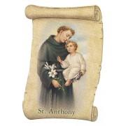 "St.Anthony Fridge Magnet cm.5x8- 2""x 3 1/4"""