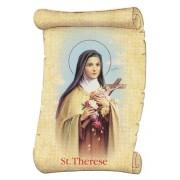 "St.Therese Fridge Magnet cm.5x8- 2""x 3 1/4"""
