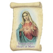 "Immaculate Heart of Mary Fridge Magnet cm.5x8- 2""x 3 1/4"""