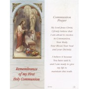 "Communion Girl Bookmark cm.6x15.5- 2 1/2""x 6 1/8"""