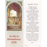 "Apostles Creed Bookmark cm.6x15.5- 2 1/2""x 6 1/8"""