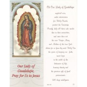 "Our Lady Guadalupe Bookmark cm.6x15.5- 2 1/2""x 6 1/8"""