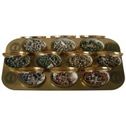 Cloisonne mm.6 Boxed 12pc Display Assorted Colours