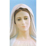 "Holy card of Medjugorje cm.7x12- 2 3/4""x 4 3/4"""