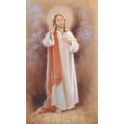 """Holy card of Sacred Heart of Jesus cm.7x12- 2 3/4""""x 4 3/4"""""""