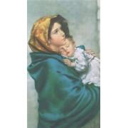 "Holy card of Feruzzi cm.7x12- 2 3/4""x 4 3/4"""
