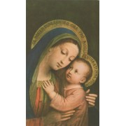 """Holy card of Perpetual Help cm.7x12- 2 3/4""""x 4 3/4"""""""