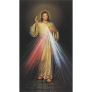 "Holy card of the Divine Mercy cm.7x12- 2 3/4""x 4 3/4"""