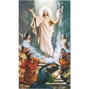 "Holy card of the Resurrection cm.7x12- 2 3/4""x 4 3/4"""
