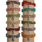 12 Bracelets Assortis