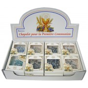 Chapelets de communion dans un affichage avec 24 pièces