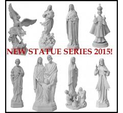 Serie de mármol compuesto de estatuas