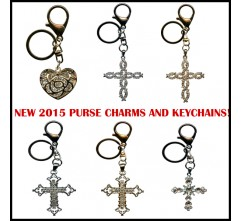 Collection of Purse Charms and Keychains