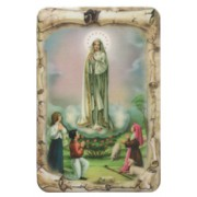 "Fatima Scroll Fridge Magnet cm.4x6 - 4 1/4""x 2 1/2"""