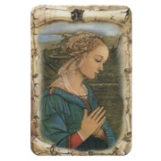 "Lippi Scroll Fridge Magnet cm.4x6 - 4 1/4""x 2 1/2"""