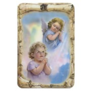 "Guardian Angel Scroll Fridge Magnet cm.4x6 - 4 1/4""x 2 1/2"""