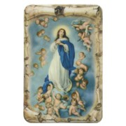 "Assumption Scroll Fridge Magnet cm.4x6 - 2 1/2""x 4 1/4"""