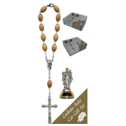 St.Joseph Car Statue SCBMC3 with Decade Rosary RDO28