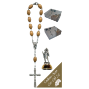 St.Christopher Car Statue SCBMC4 with Decade Rosary RDO28