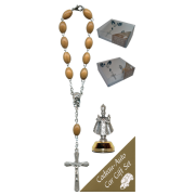 Infant of Prague Car Statue SCBMC12 with Decade Rosary RDO28