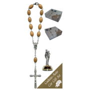 Helper of Christians Car Statue SCBMC15 with Decade Rosary RDO28