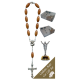 The Resurrection Car Statue SCBMC16 with Decade Rosary RD164-1