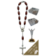 The Resurrection Car Statue SCBMC16 with Decade Rosary RD164-2