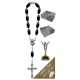The Resurrection Car Statue SCBMC16 with Decade Rosary RD164-3