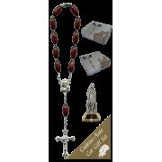 Fatima Car Statue SCBMC18 with Decade Rosary RD164-2