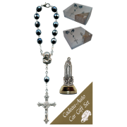 Fatima Car Statue SCBMC18 with Decade Rosary RD850A-14