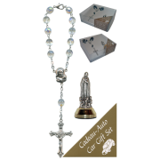 Fatima Car Statue SCBMC18 with Decade Rosary RD850A-15
