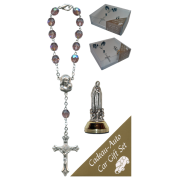 Fatima Car Statue SCBMC18 with Decade Rosary RD850A-16