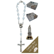 Fatima Car Statue SCBMC18 with Decade Rosary RDI28