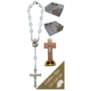 Crucifix Car Statue SCBMC22 with Decade Rosary RDI28