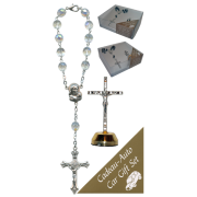 Crucifix Car Statue SCBMC23 with Decade Rosary RD850A-15