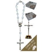 Crucifix Car Statue SCBMC23 with Decade Rosary RDI28