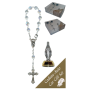 Cap De La Madeline Car Statue SCBMC24 with Decade Rosary RDT400-15