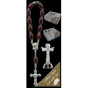 Trinity Car Statue SCBMC27 with Decade Rosary RD164-2