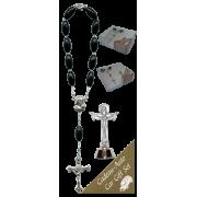 Trinity Car Statue SCBMC27 with Decade Rosary RD164-3