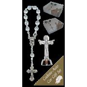 Trinity Car Statue SCBMC27 with Decade Rosary RDT400-15