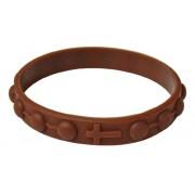 Rubber Bracelet Brown