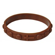 Rubber Bracelet Brown
