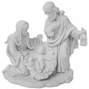 White Holy Family Satue